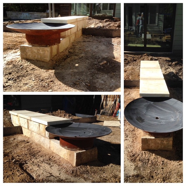 Awesome Custom Fire Pit In The Works