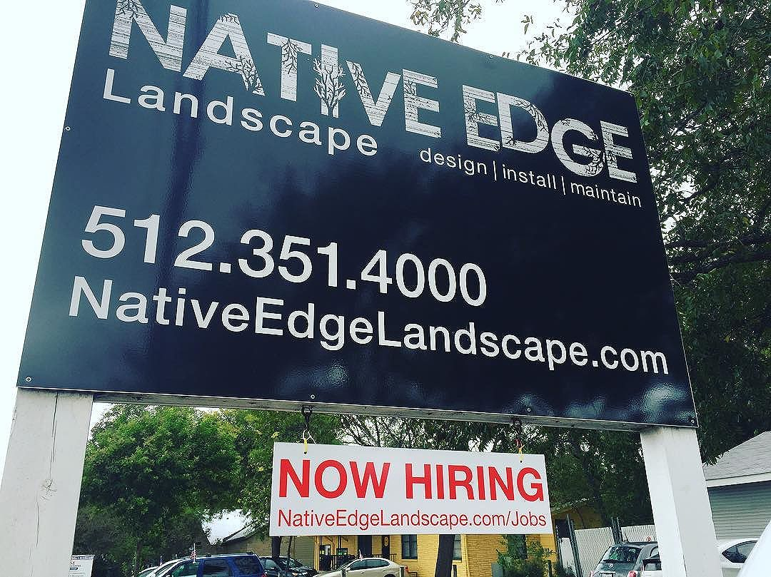 Do you know someone great who is passionate about the environment and likes to work with their hands? Call us or go online at NativeEdgeLandscape.com/Jobs We are hiring!